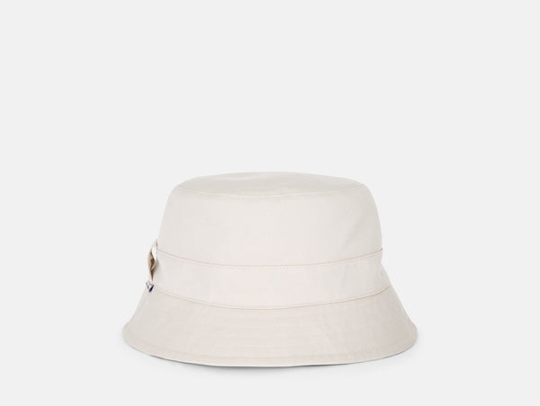 AQUASCUTUM Reversible bucket hat - LIGHT BEIGE/CLUB CHECK