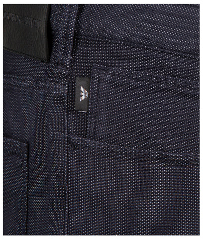 Emporio Armani 5 Pockets Trousers - Navy