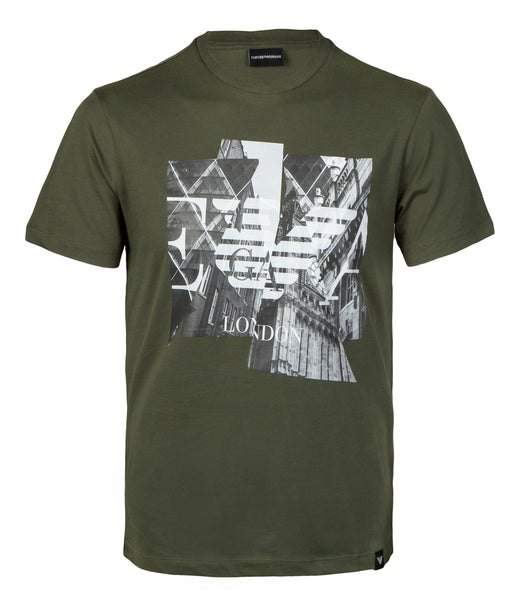 EMPORIO ARMANI New York Print T-Shirt