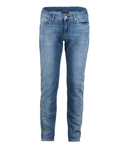 Emporio Armani Light Wash Jeans - Blue