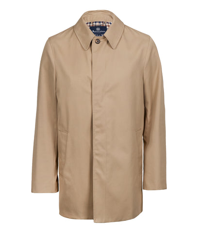 AQUASCUTUM Berkley Raincoat - CAMEL