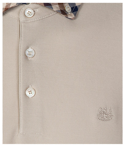 AQUASCUTUM Coniston Club Check Collar Polo Shirt