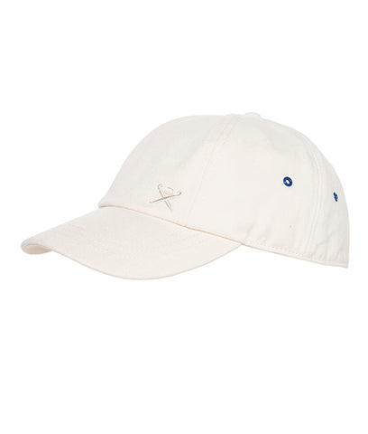 HACKETT Nautical Logo Cap - Off White