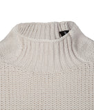 Emporio Armani Turtleneck Knitted Jumper - Vanilla