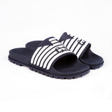 EMPORIO ARMANI - Rubber Sliders - Navy