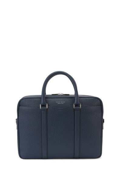 BOSS Palmellato leather bag - NAVY