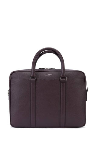 BOSS Palmellato leather bag - DARK RED