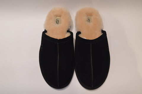 UGG SCUFF SLIPPER - BLACK