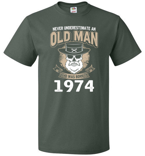 1974 Old Man Birth Year Gift