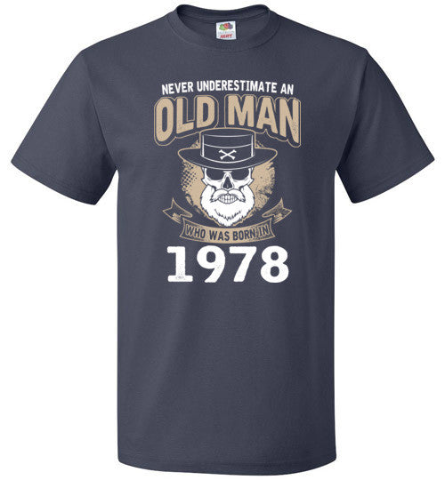 1978 Old Man Birth Year Gift
