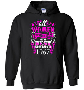 1967 Birthday Shirt for Woman Best One Were Born In 1967