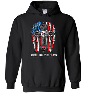 1 stand for the flag kneel for the cross, South Carolina Gamecocks - Heavy Blend Hoodie