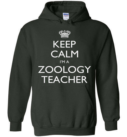 Keep Calm I'm A Zoology Teacher   Tshirts