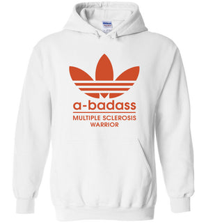Abadas logo multiple sclerosis warrior - Heavy Blend Hoodie