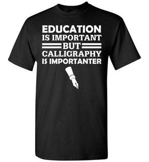 Education Is Important But Calligraphy Is Importanter