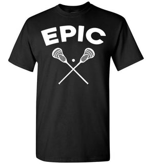 Epic Lacrosse Player