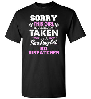 911 Dispatcher Shirt Cool gift for Girlfriend or wife of 911 Dispatcher
