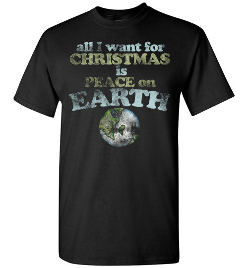 All I want for Christmas is Peace on earth