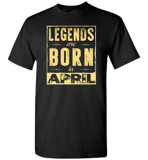 legends are born in april style 2