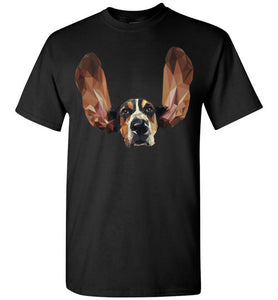 Basset Hound Low Poly