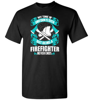Being A Firefighter Never Ends