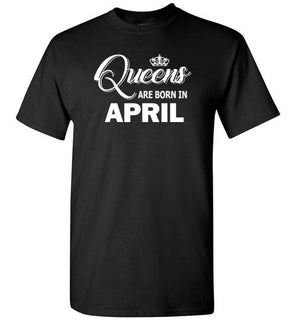 Queens Are Born In April Style 2