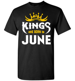 Kings Are Born In June T Shirt