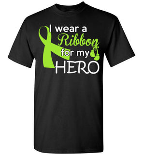 I WEAR A RIBBON FOR MY HERO