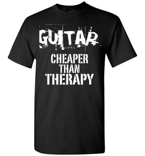 Guitar, Cheaper Than Therapy