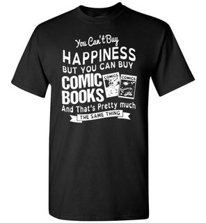 Happiness And Comic Books