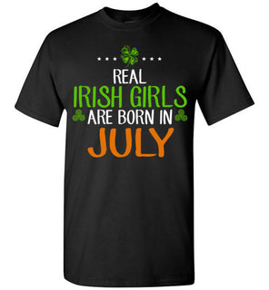 St. Patrick's Day Real Irish Girls Are Born In July