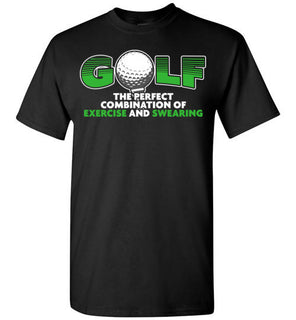 Golf the perfect combination of exercise and swearing