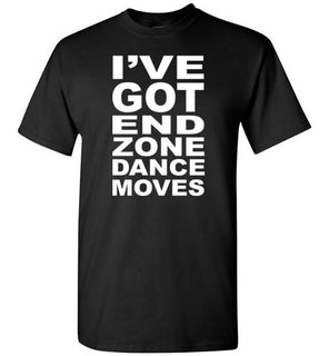 I've got end zone dance moves