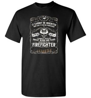 Firefighter Can't Be Inherited