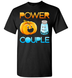 Pumpkin Spice T shirt Power Couple T shirt Halloween