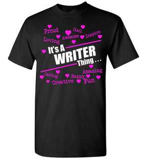 A  WRITER THING..