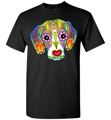 Beagle   Day of the Dead Sugar Skull Dog