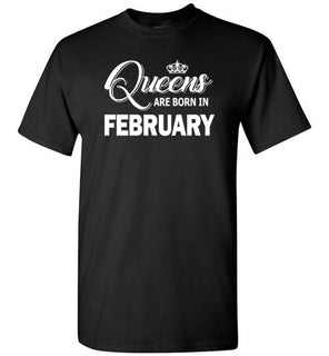 Queens Are Born In February Style 2