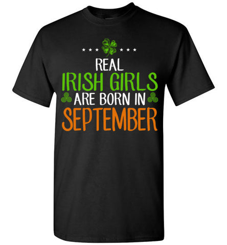 St. Patrick's Day Real Irish Girls Are Born In September