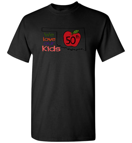 50th We love our kids - Short Sleeve T-Shirt