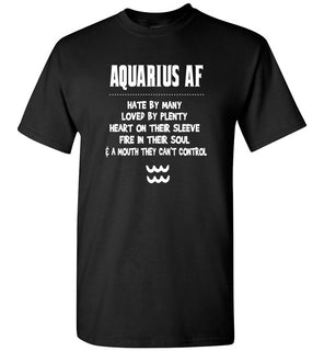 Aquarius AF Zodiac Sign