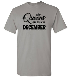 Queens Are Born In December Light Style 1