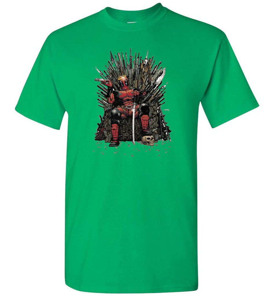 Deadpool Game Of Thrones - Short Sleeve T-Shirt
