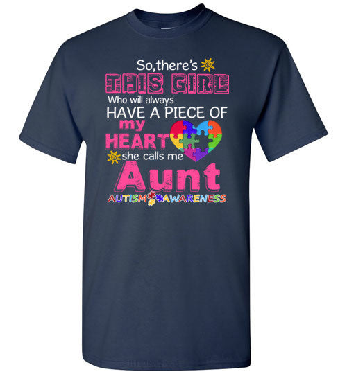 Autism Aunt   Piece Of My Heart Awareness Girl