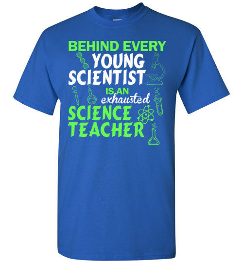 Behind Every Young Scientist Is An Echausted Science Teacher
