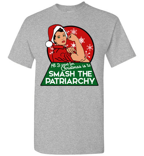 All I want for Christmas is to smash the Patriarchy