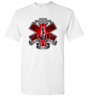 4 we will never forget 9 11 01 EMERGENCY SERVICES MEDICA Great Shirt