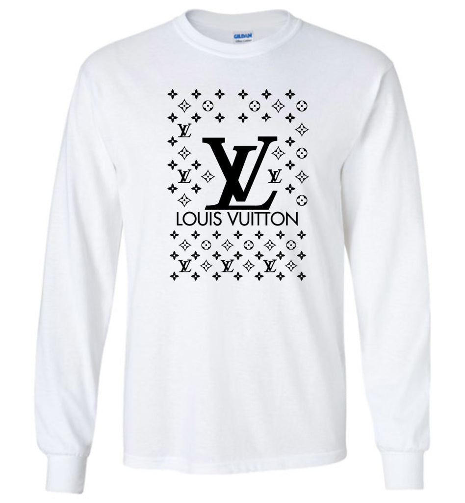 louis vuitton long sleeve t shirt azstyle. Black Bedroom Furniture Sets. Home Design Ideas