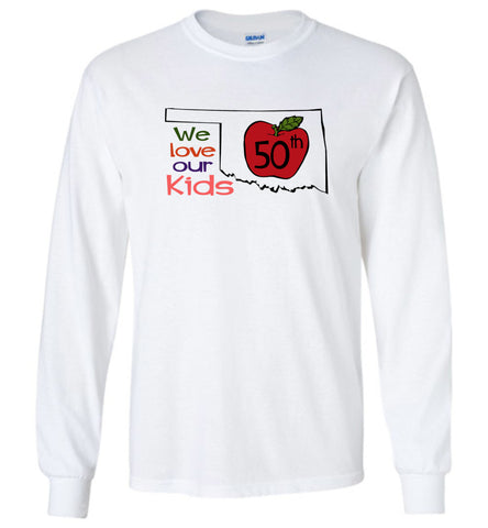 50th We love our kids - Long Sleeve T-Shirt