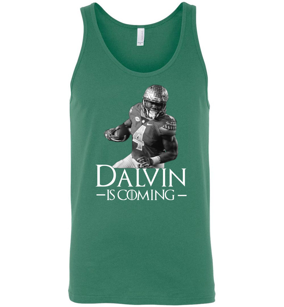 Dalvin Is Coming - Canvas Unisex Tank
